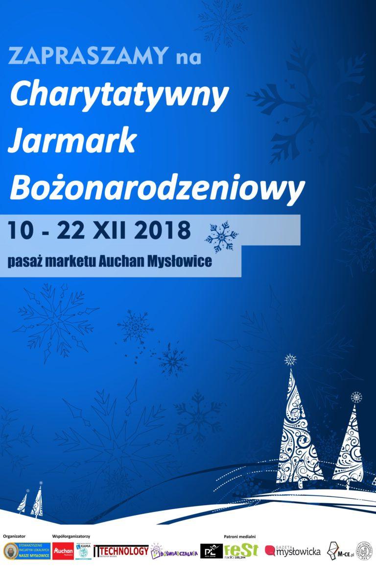 Charytatywny Jarmark Bożonarodzeniowy – startujemy