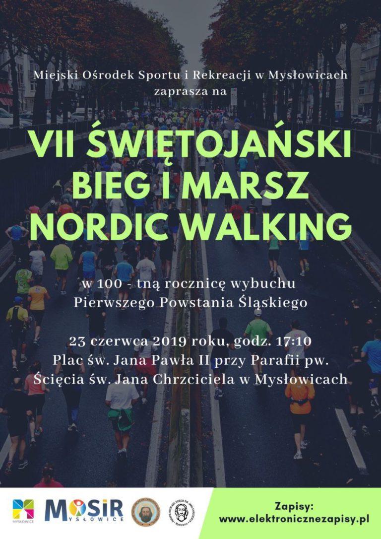 VII Świętojański Bieg oraz Marsz Nordic Walking