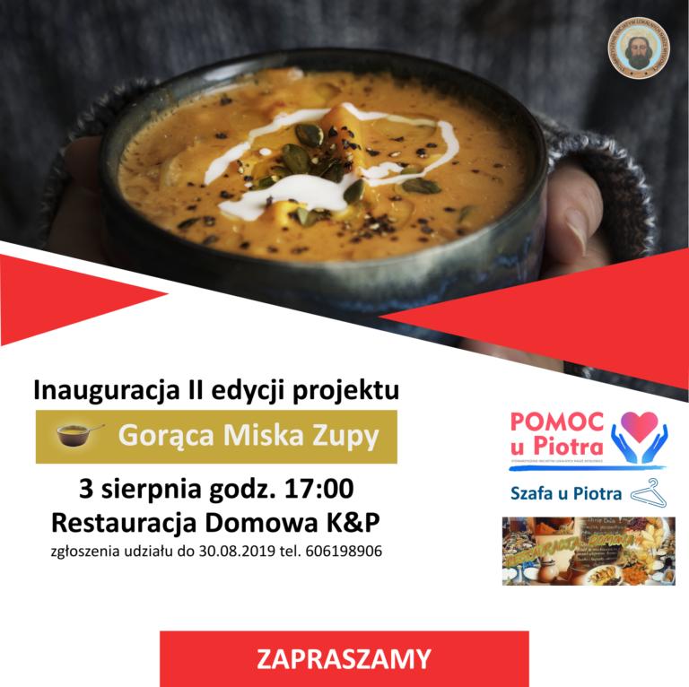 """Inauguracja II edycji projektu """"Gorąca Miska Zupy"""""""
