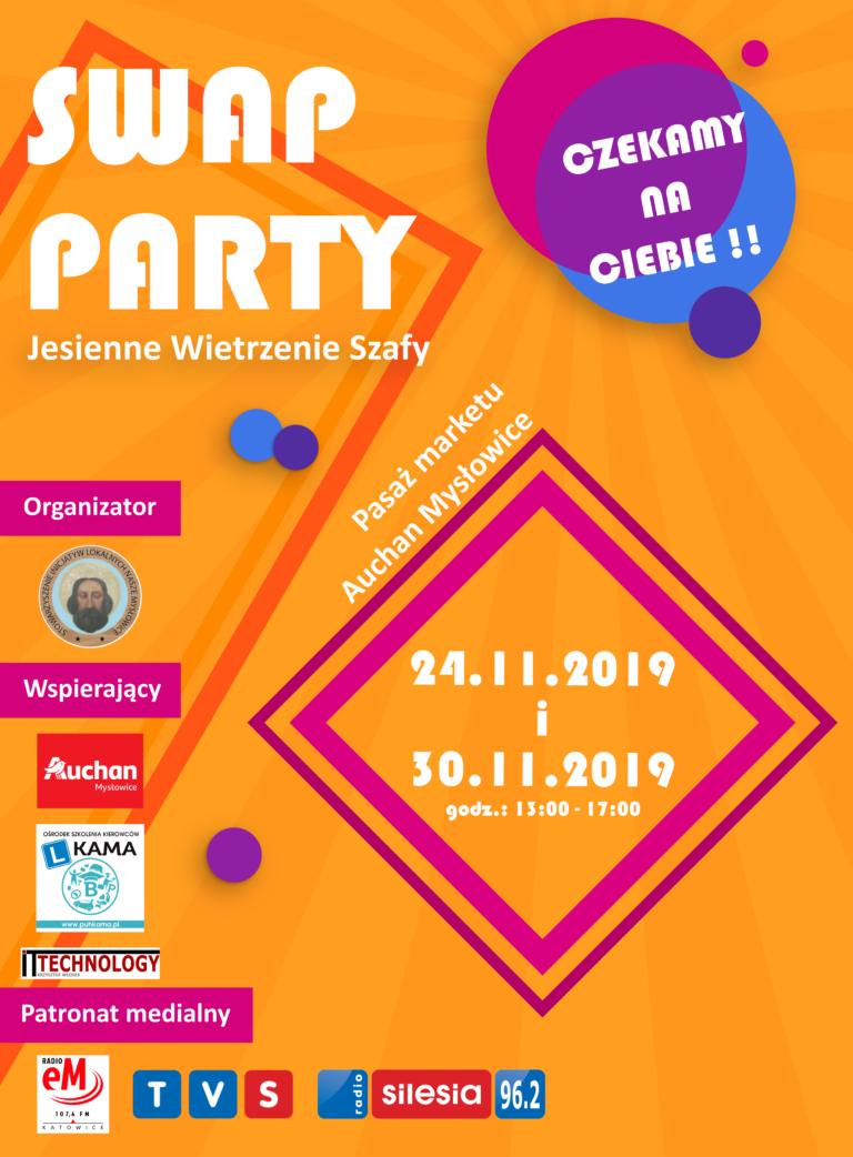 Swap Party – Jesienne Wietrzenie Szafy