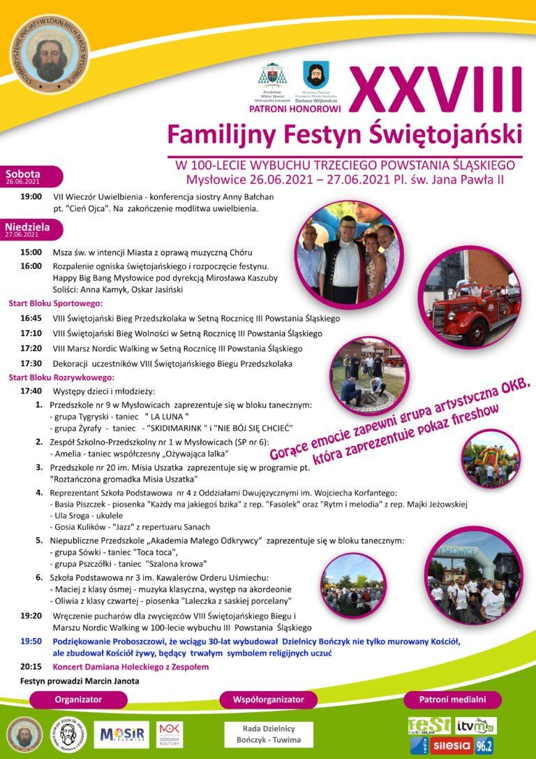 XXVIII Familijny Festyn Świętojański