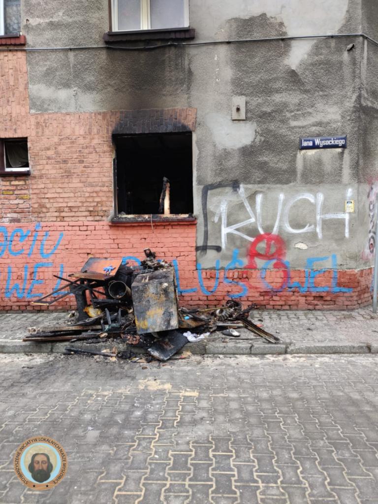 Wstrząsająca relacja z pożaru w Mysłowicach. Prosimy o wsparcie dla poszkodowanych!!