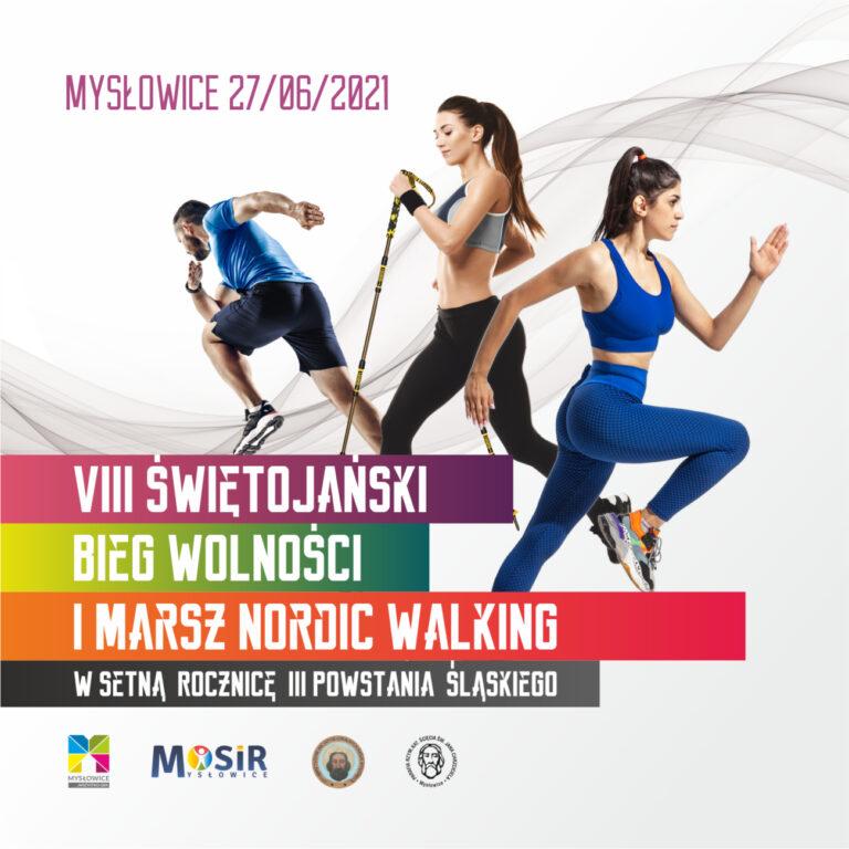 VIII Świętojański Bieg Wolności i Marsz Nordic Walking